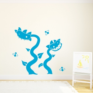 Venus Flytrap Wall Art Decal