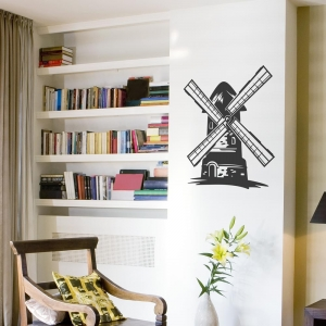 Windmill Wall Art Decal