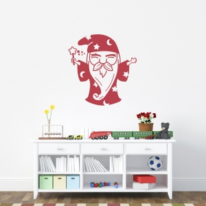 Wizard Wall Art Decal