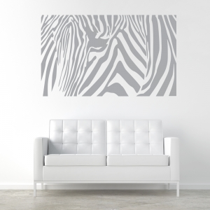 Zebratangle Wall Art Decal