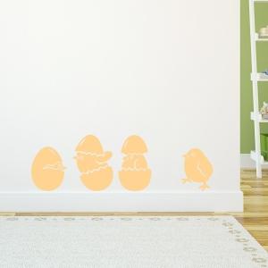 Baby Chicks Art Decal