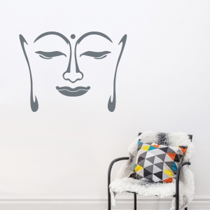 Buddha Face Decal