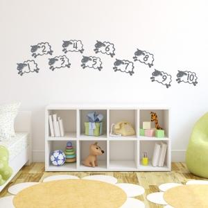 Counting Sheep Wall Art Decal
