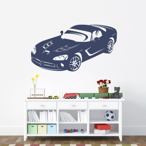 Dodge Viper Wall Decal