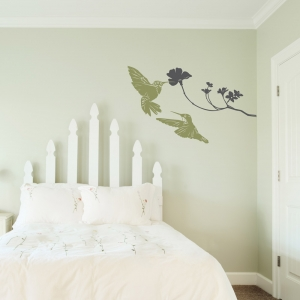 Hummingbirds Wall Decal