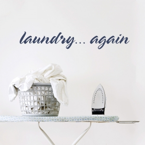 Laundry... again Wall Decal