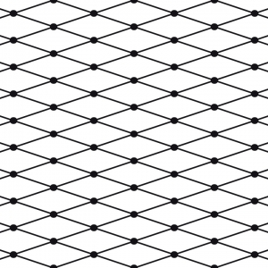 Fishnet Stretch Removable Wallpaper Tiles