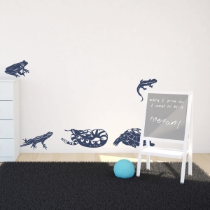 Amphibians Wall Decal