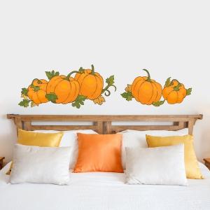 Autumn Pumpkins Printed Decal