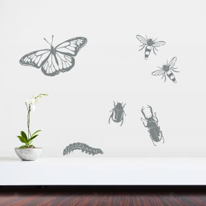 Insects Set One Wall Decal
