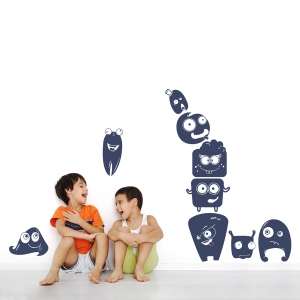Little Monsters Wall Decal
