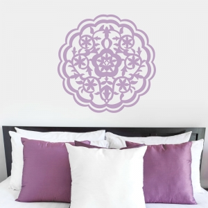 Moroccan Flower Wall Decal