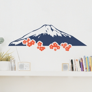 Mt. Fuji Wall Decal