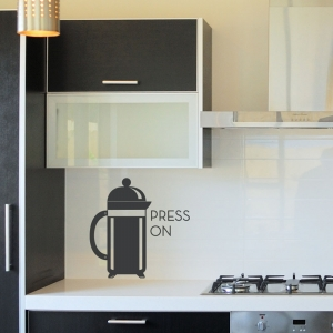 Press On Wall Decal