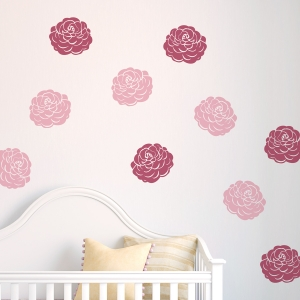Ranunculus Flowers Wall Decal