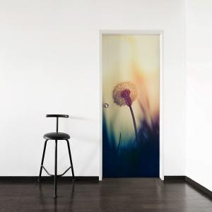 Dandelion Door Mural