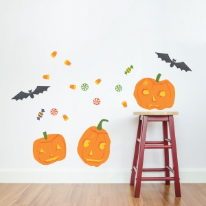 Halloween Fun Printed Wall Decal