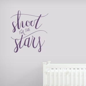 Shoot For The Stars Wall Decal
