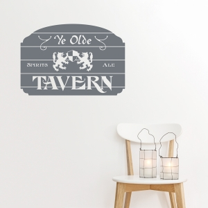 Ye Olde Tavern Wall Decal