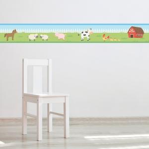 Barn Family Border Removable Wallpaper Border