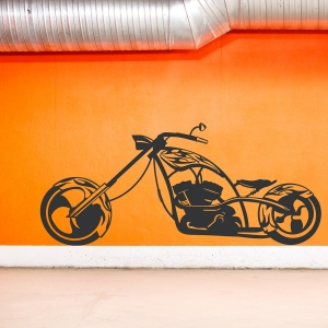 Chopper Wall Decal