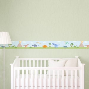 Dino Removable Wallpaper Border