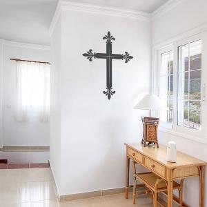 Latin Cross Wall Decal