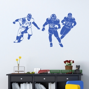 Football Play Wall Decal