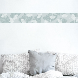 Ginkgo Leaves Removable Wallpaper Border