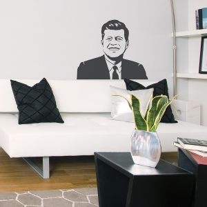 JFK Wall Decal