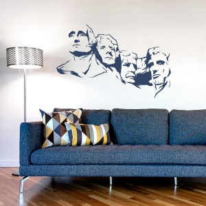 Mount Rushmore Wall Decal