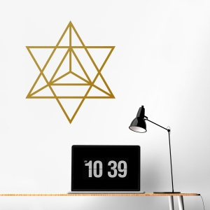 Merkaba Wall Decal