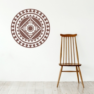 Native American Medallion Wall Decal