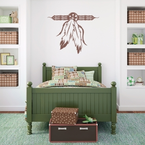 Native American Talisman Wall Decal