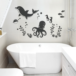 Ocean Family Wall Decal