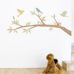 Pattern Branch Printed Wall Decal