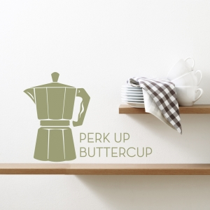 Perk Up Buttercup Wall Decal
