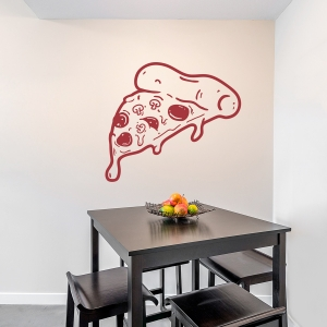 Pizza Slice Wall Decal