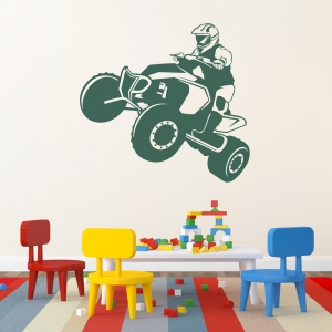 Quad Bike Wall Decal
