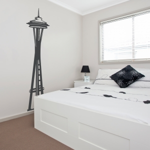 Space Needle Wall Decal