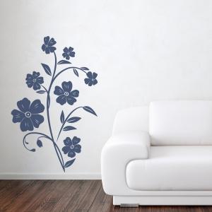 Streptocarpus Flower Wall Decal