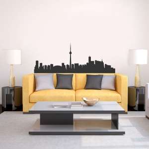 Toronto Skyline Vinyl Wall Art Decal