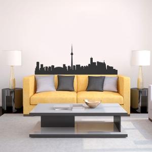 Toronto Skyline Vinyl Wall Art Decal