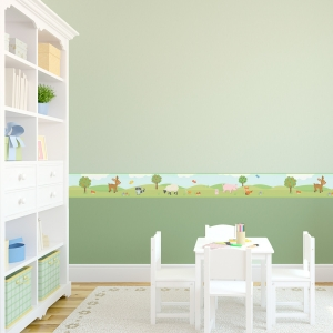 Woodland Removable Wallpaper Border