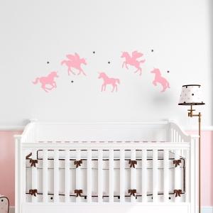 Baby Unicorns Wall Decal