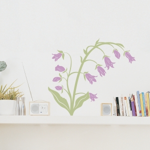 Bell Flower Wall Decal