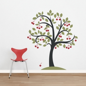 Cherry Tree Wall Decal