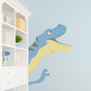Dino Peekaboo Printed Wall Decal