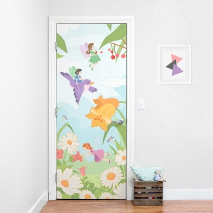 Fairies Door Mural