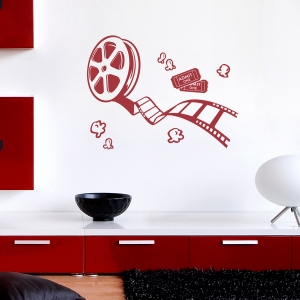 Film Reel Wall Decal